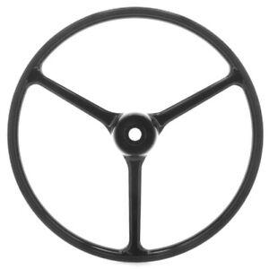 Jeep Crown Automotive Steering Wheel Black 927417 CJ3B CJ5 CJ6 FC150