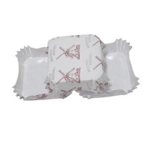 50Pcs Square Cake Paper Trays Cupcake Liners Holder Kitchen Ice Cream Case Box