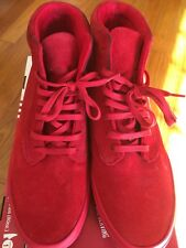 Radii Basic Red Suede Size 12