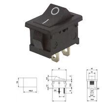 Mini Wippenschalter 2 Polig 250V 6A 125V 10A Ein/Aus Wippschalter Kippschalter