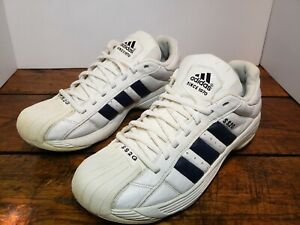 Adidas Superstar 2 SS2G Rare Black/White Leather Vintage Shoes Mens 12