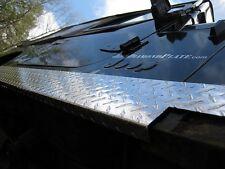 "JEEP CJ7 6"" Diamond plate Rocker Guards w/ 90° 1 inch lip $69.99 & FREE SHIPPING"