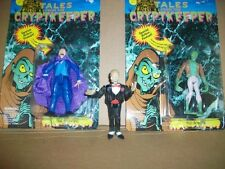 VINTAGE ACTION FIGURES ~ (3) ~ TALES FROM THE CRYPTKEEPER, ZOMBIE, VAMPIRE ~ACE