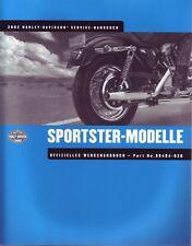 HARLEY Werkstatthandbuch 2002 Sportster DEUTSCH Reparaturanleitung Wartungsbuch