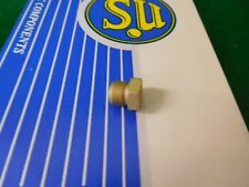 SU Carburettor HS2 HS4 & HS6 Float Chamber Bottom Brass Gland Nut AUD 2129