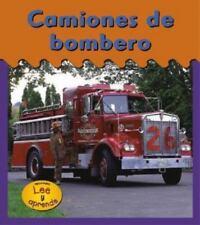 Camiones de Bombero = Fire Trucks (Ruedas-ExLibrary