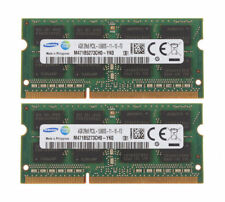 SAMSUNG 8 GB (2 x 4 GB) PC3-12800 DDR3 1600 MHz 204pin Laptop/Mac di memoria RAM