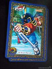street fighter II ZERO card game trading card n 14