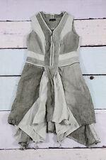 C`ARLA DU NORD designer bohemian leinen kleid