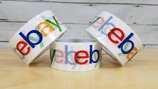 Ebay Branded Logo Packing Tape 3 rolls 2 inch X 75 yards