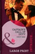 Captain's Call of Duty (Mills & Boon Largeprint Intrigue)-ExLibrary