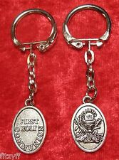 First Holy Communion Keyring Christogram IHS Key Ring Religious Gift Souvenir