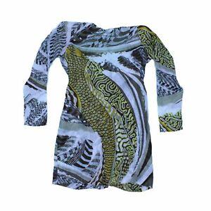 Emilio Pucci Women's Midi Dress 14 Colour:  Multi