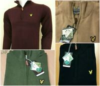 LYLE AND SCOTT LONG SLEEVE HALF ZIP JUMPER FOR MEN