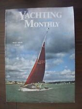 VINTAGE THE YACHTING MONTHLY MAGAZINE JANUARY 1964 NATIONAL BOAT SHOW GUIDE