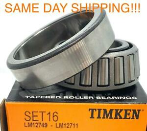 TIMKEN LM12749 / LM12711 tapered roller bearing set (cup & cone)  LM12749/11