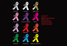 Cancer Awareness Ribbon Childhood Brain Survivor Car Sticker Decal