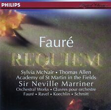 FAURE : REQUIEM - McNAIR, ALLEN, ACADEMY, MARRINER / CD