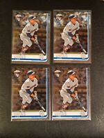 LUIS URIAS BREWERS PADRES 2019 TOPPS CHROME RC #141 LOT OF 4 rookie psa