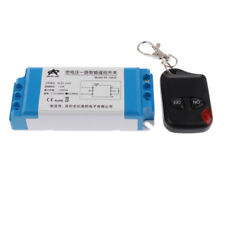 DC 15-120V Relay Wireless 2 Mode Remote Control Switch Transmitter+Receiver