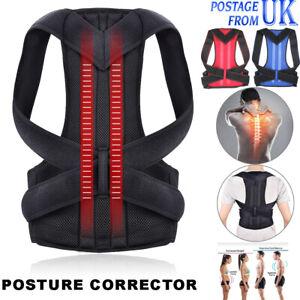 Adjust Posture Corrector Back Brace Support Shoulder Straightener Belt Brace