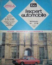 Revue technique RENAULT 18 TD GTD R 1344  RTA EXPERT 175 1981