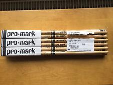 Pro Mark Forward 5B Hickory Wood Tip Drumsticks Brick 6 Pairs