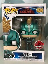 Captain Marvel Funko POP! Vers #434   EB Games Exclusive