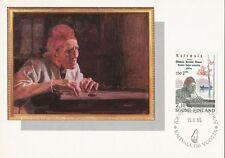 Finland 1985 FDC - Kalevala Maxi Card no. 3 - Card Painting by Albert Edelfelt