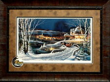 Terry Redlin Family Traditions with Cameo-Framed 27.5 x 20.5
