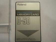 ROLAND  1 CARD PN-02 X ROLAND D50/550 PERFETTA