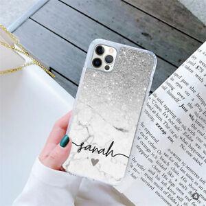 For Apple iPhone 12 Samsung S21 Huawei Personalised Ladies GEL Case Cover 152-4