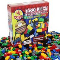 1000 Piece Building Bricks Blocks Construction Creative Toy Compatible Play Game