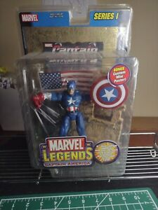 marvel legends series 1 captain america