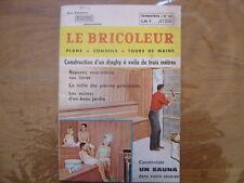 1965 LE BRICOLEUR plans conseils bricole et brocante SOMMAIRE EN PHOTO n°45