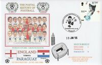 2006 WORLD CUP FINAL ENGLAND v PARAGUAY DAWN FOOTBALL COVER