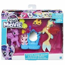My Little Pony the Movie Princess Twilight Sparkle & Princess Skystar Sea Pony