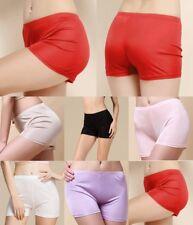 Women's Girl's 100% Pure Silk Briefs Boxers Undies Knickers Panties Boy Shorts