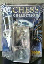 DC Superhero Chess Collection Comic Issue No.1 BATMAN WHITE KNIGHT Figurine New!