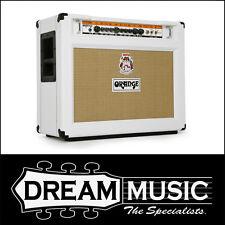 ORANGE Rockerverb 50 White Tube Amp Guitar Valve Amplifier Combo 2x12 RRP $3599