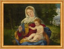 The Virgin and Child with a shoot of Olive Andrea previtali Maria B a3 00488