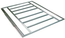 Floor Steel Frame Kit Galvanized 10 x 12 14 ft Outdoor Storage Shed Accessory