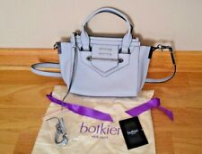 New in Bag Botkier Satchel Convertible w Removable Strap Light Blue