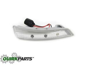 10-15 Dodge Grand Caravan Town & Country Right Mirror Light Turn Signal MOPAR OE