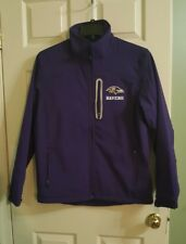Official NFL Baltimore Ravens 3 Layer Soft Shell Team  Jacket -Mens Medium NWT