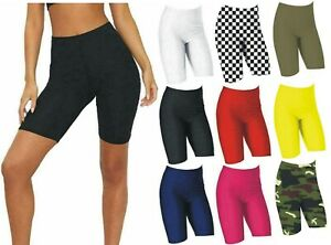 Womens Ladies Super Stretchy Lycra Leggings Cycling Dance Shorts Girls shapewear