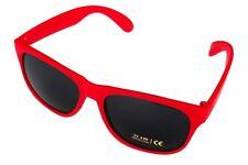 Lente De Sol Rojo Clásico Para Hombre Damas Moda 80s de Mujer Estilo Retro Vintage UV400