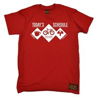 Cycling Tee - Todays Shedule Bike - funny Birthday tee tshirt T SHIRT T-SHIRT