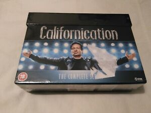 Californication Complete Collection Season / Series 1-7- UK Release DVD Set new