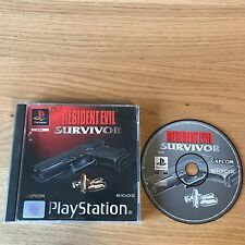 Resident Evil Survivor PS1 PlayStation 1 Game | PAL Boxed | Capcom Zombies